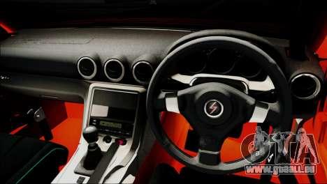 Nissan Silvia S15 Varietta für GTA San Andreas Rückansicht
