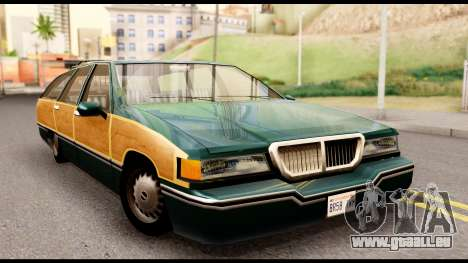 Elegant Station Wagon with Wood Panels für GTA San Andreas