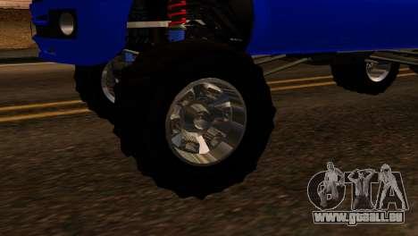 GTA 5 Vapid Sandking XL IVF für GTA San Andreas zurück linke Ansicht
