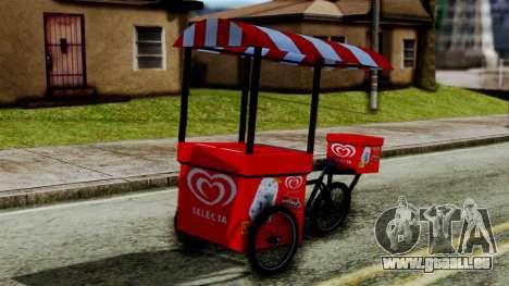 Selecta Ice Cream Bike für GTA San Andreas