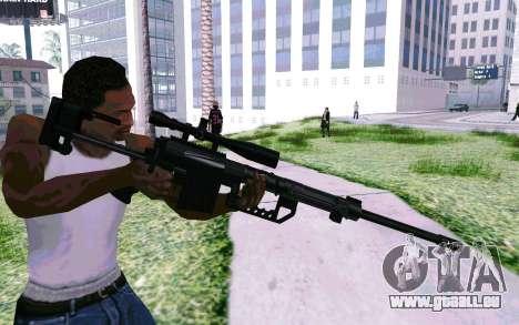 Cheytac M200 Black für GTA San Andreas