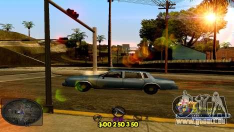 C-HUD Barcelona pour GTA San Andreas deuxième écran