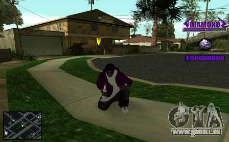 C-HUD Diamond Gangster pour GTA San Andreas
