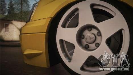 Subaru Impreza WRX STI JDM Style 2015 für GTA San Andreas zurück linke Ansicht