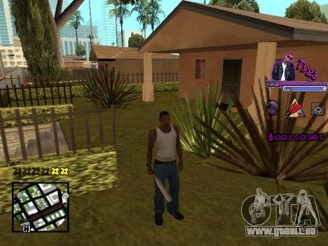 C-HUD by Tyga pour GTA San Andreas