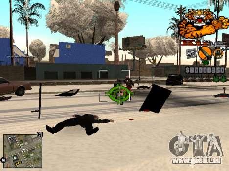 C-HUD King pour GTA San Andreas quatrième écran