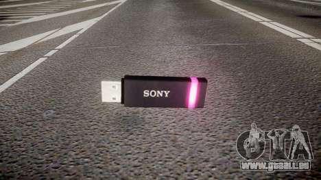 USB-flash-Laufwerk von Sony lila für GTA 4