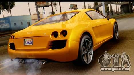 GTA 5 Obey 9F Coupe pour GTA San Andreas laissé vue