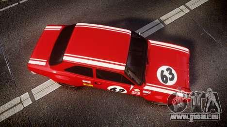 Ford Escort RS1600 PJ63 pour GTA 4 est un droit