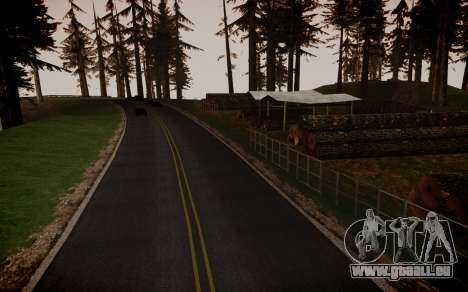 Fourth Road Mod für GTA San Andreas siebten Screenshot