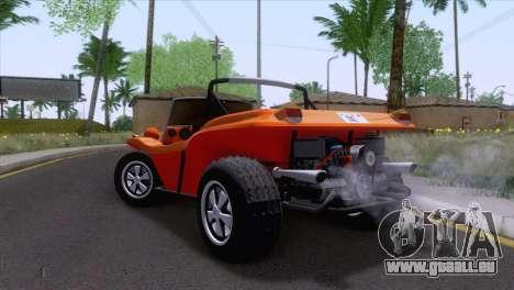 Volkswagen Dune Buggy 1975 pour GTA San Andreas laissé vue