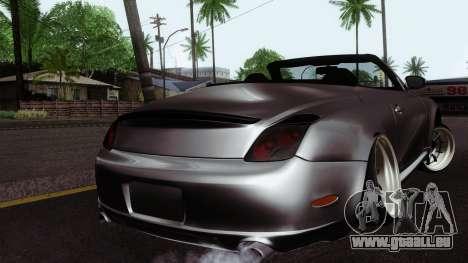 Lexus SC430 pour GTA San Andreas laissé vue
