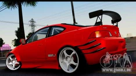 Honda Integra Type R Time Attack HQLM für GTA San Andreas linke Ansicht