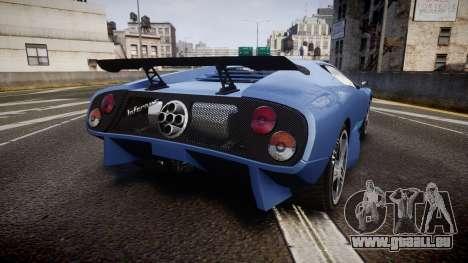 Pegassi Infernus GTA V Style pour GTA 4 Vue arrière de la gauche