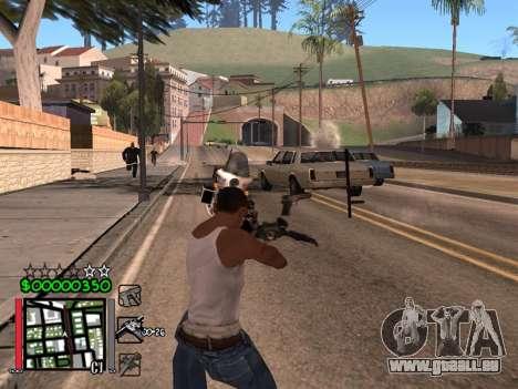 Classic C-HUD 3.4 by Niko für GTA San Andreas