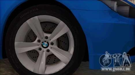BMW 520i E60 für GTA San Andreas zurück linke Ansicht