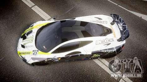 McLaren P1 2014 [EPM] Ken Block für GTA 4 rechte Ansicht
