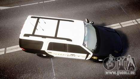 Ford Expedition 2010 Sheriff [ELS] pour GTA 4 est un droit