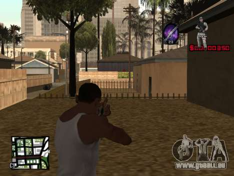 C-HUD by Alesha pour GTA San Andreas