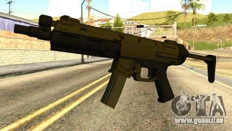 MP5 from GTA 5 für GTA San Andreas