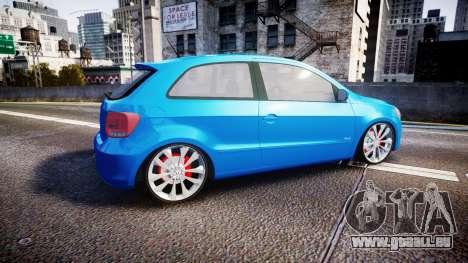 Volkswagen Gol G6 iTrend 2014 rims2 für GTA 4 linke Ansicht