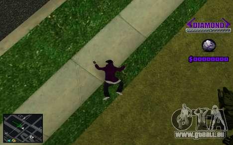 C-HUD Diamond Gangster pour GTA San Andreas septième écran