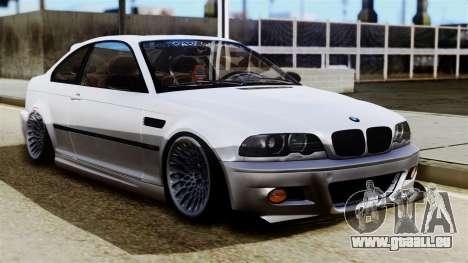 BMW M3 E46 Sport PG pour GTA San Andreas