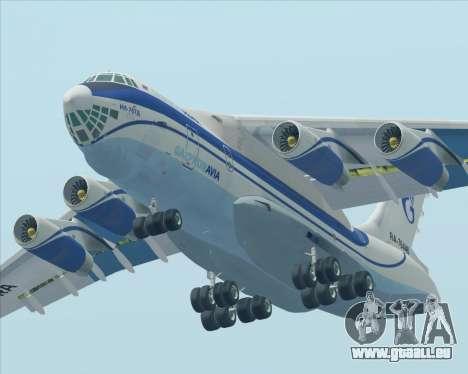 IL-76TD Gazprom Avia für GTA San Andreas Innen