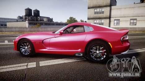 Dodge Viper SRT 2012 für GTA 4 linke Ansicht