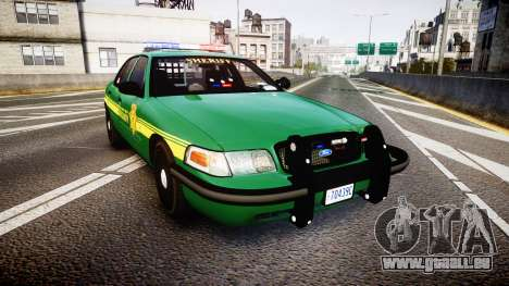 Ford Crown Victoria Sheriff [ELS] green pour GTA 4