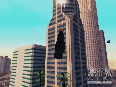 Spiderman Swinging v2.1 für GTA San Andreas