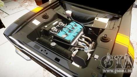Ford Escort RS1600 PJ13 pour GTA 4 Vue arrière