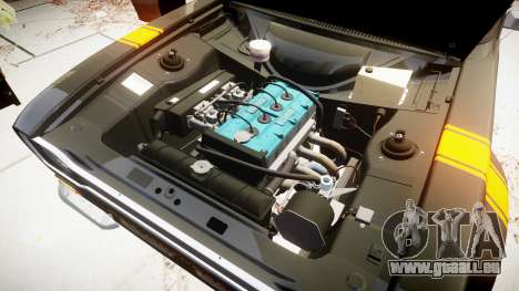 Ford Escort RS1600 PJ39 pour GTA 4 Vue arrière