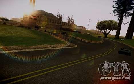 Fourth Road Mod pour GTA San Andreas troisième écran