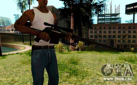 Cheytac M200 Black für GTA San Andreas zweiten Screenshot