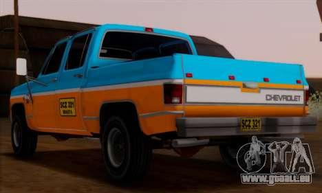 Chevrolet Custom Deluxe für GTA San Andreas linke Ansicht