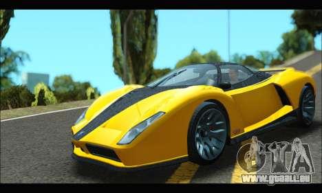 Grotti Cheetah v3 (GTA V) (IVF) für GTA San Andreas