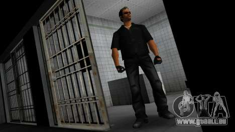 Tommy In Black pour GTA Vice City