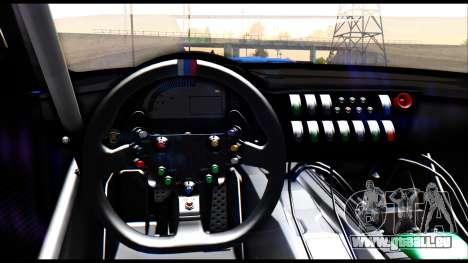 BMW Z4 GT3 pour GTA San Andreas vue de droite