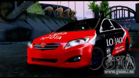Toyota Corolla 2012 LOJACK Racing für GTA San Andreas