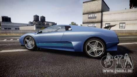Pegassi Infernus GTA V Style pour GTA 4 est une gauche