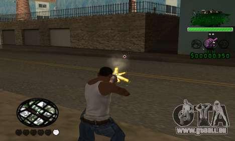 C-HUD Grove St. Family pour GTA San Andreas deuxième écran
