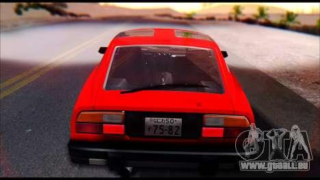 Nissan S130 pour GTA San Andreas vue de droite