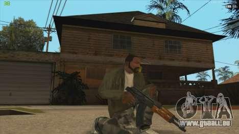 AK47 из Killing Floor für GTA San Andreas zweiten Screenshot
