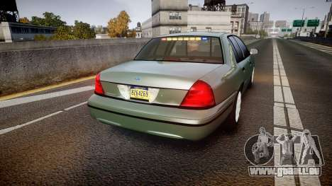 Ford Crown Victoria Police Interceptor [ELS] für GTA 4 hinten links Ansicht