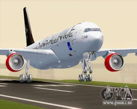 Airbus A330-300 SAS Star Alliance Livery für GTA San Andreas