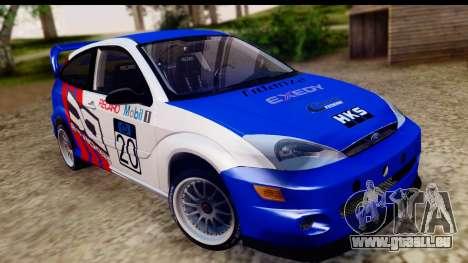 Ford Focus pour GTA San Andreas sur la vue arrière gauche