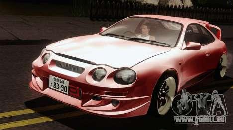 Toyota Celica GT-Four für GTA San Andreas rechten Ansicht