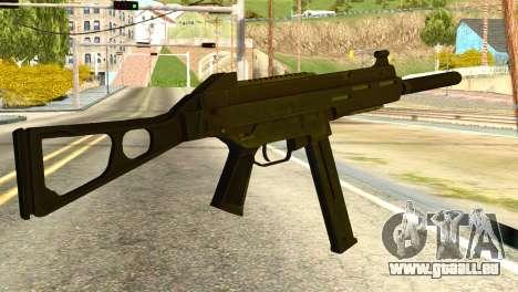 UMP45 from Global Ops: Commando Libya für GTA San Andreas zweiten Screenshot