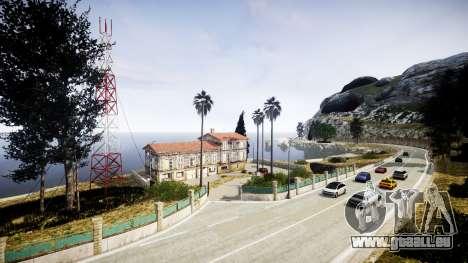 Karte der französischen Riviera v1.2 für GTA 4 weiter Screenshot